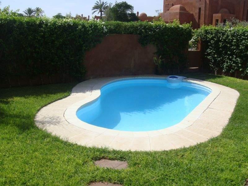 Villa à louer Marocain épuré Marrakech Palmeraie