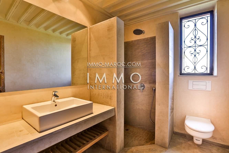 Villa à vendre Marocain Marrakech Palmeraie