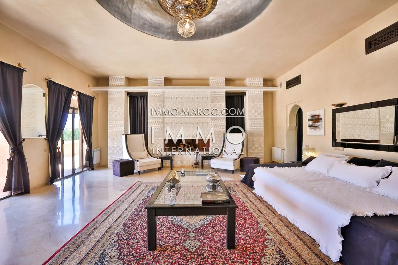 Achat villa Marocain Marrakech Palmeraie