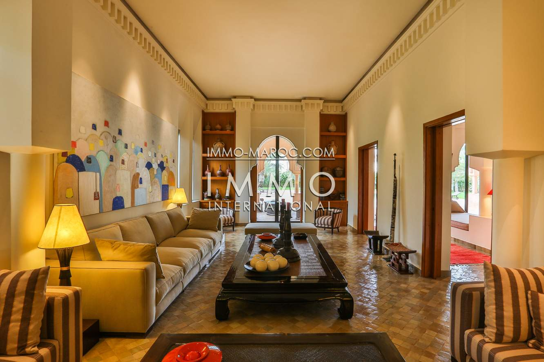 Vente villa Marocain haut de gamme Marrakech Palmeraie