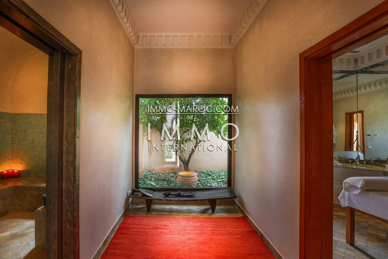Villa à vendre Marocain luxe Marrakech Palmeraie