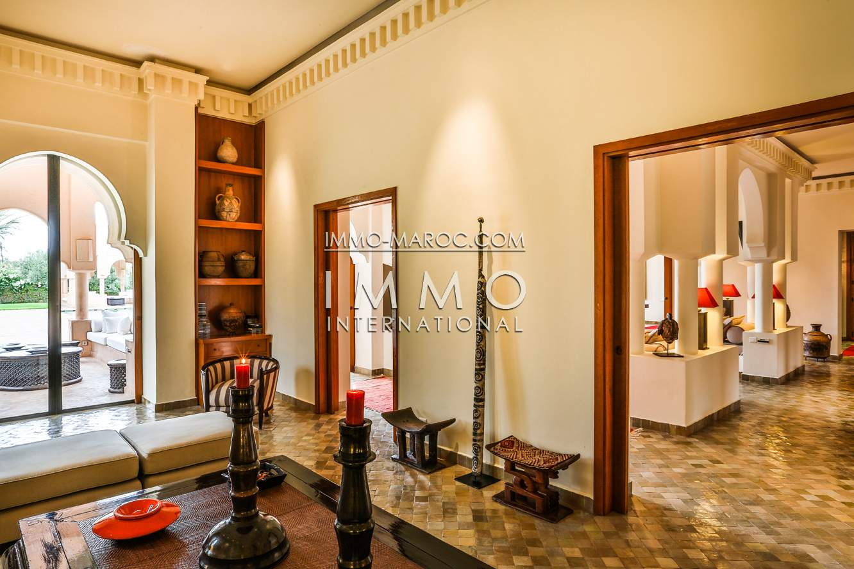 Achat villa Marocain Prestige Marrakech Palmeraie