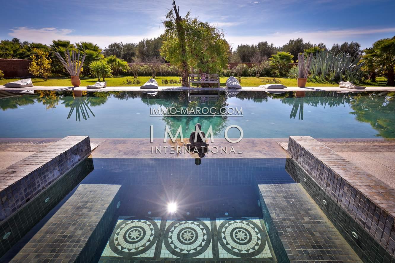 Achat villa Contemporain biens de prestige marrakech Marrakech Extérieur Route Fes