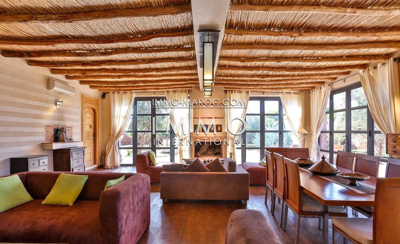 villa achat Contemporain biens de prestige Marrakech Extérieur Route Fes