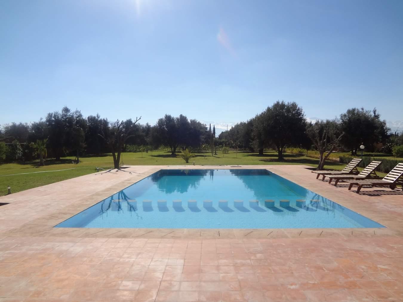 Maison à vendre Marocain épuré Marrakech Extérieur Route Sidi Abdellah Ghiat