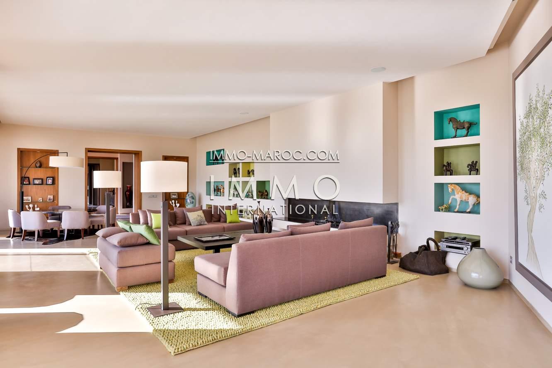 Maison à vendre Moderne immobilier de luxe marrakech Marrakech Golfs Amelkis