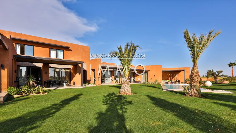 acheter maison Contemporain Prestige Marrakech Golfs Amelkis