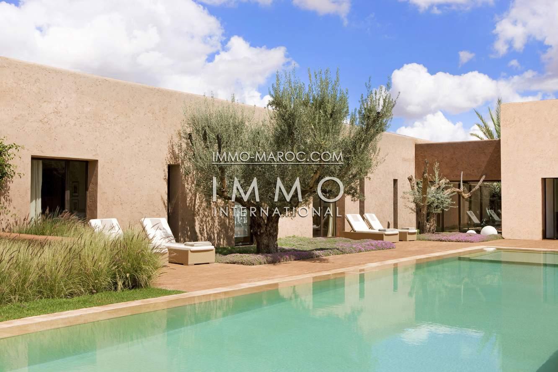 Vente villa Moderne haut de gamme Marrakech Golfs