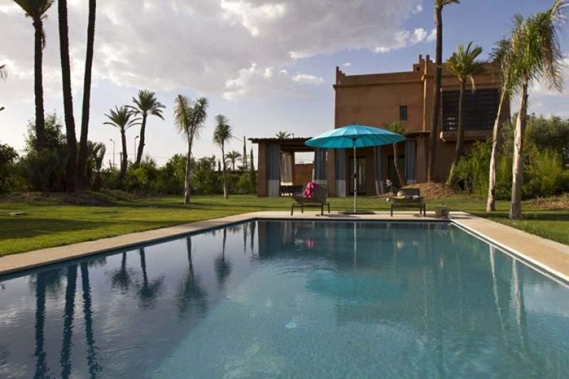 Villa à vendre traditionnel Marrakech Palmeraie