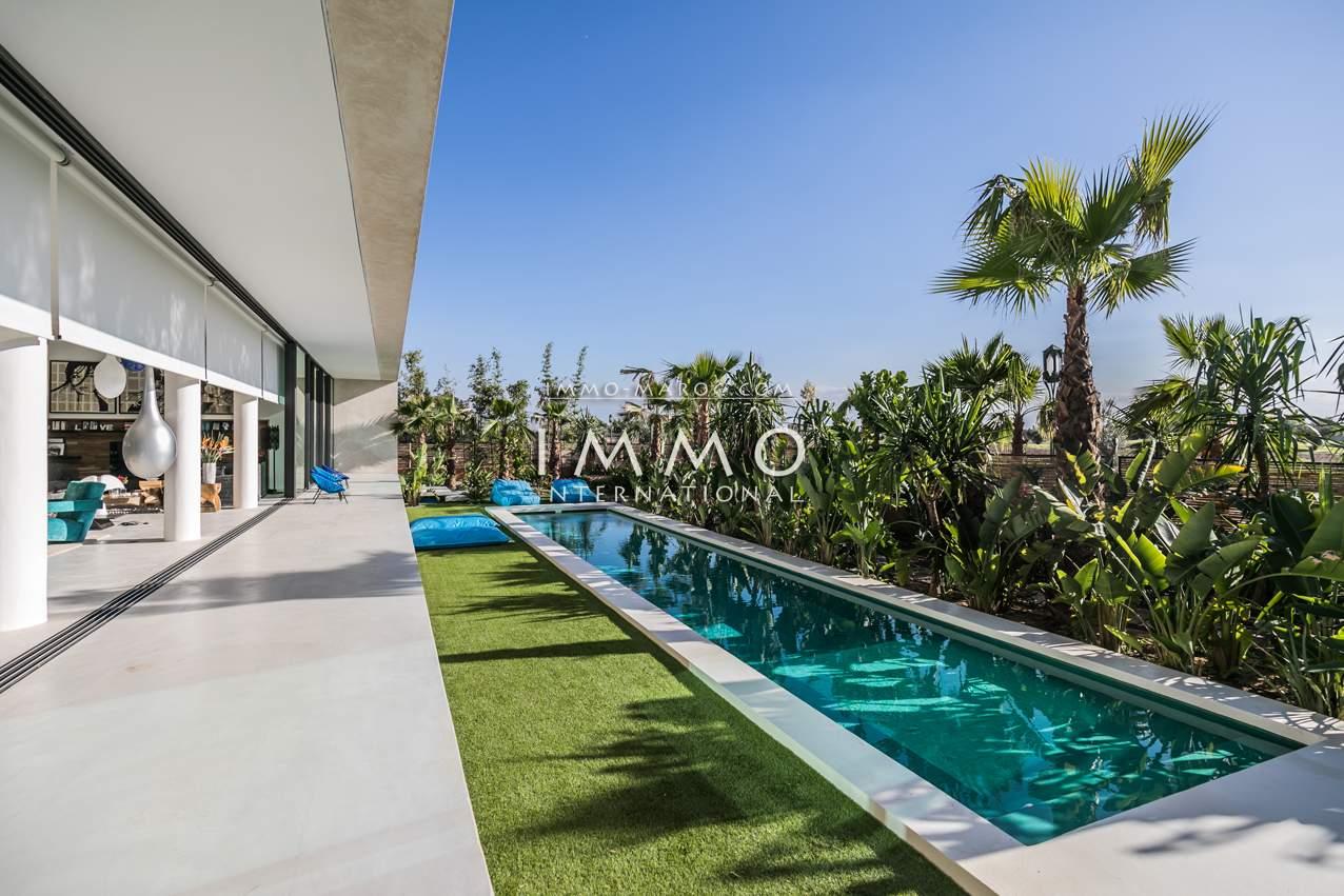Vente maison Moderne prestige a vendre Marrakech Golfs Amelkis