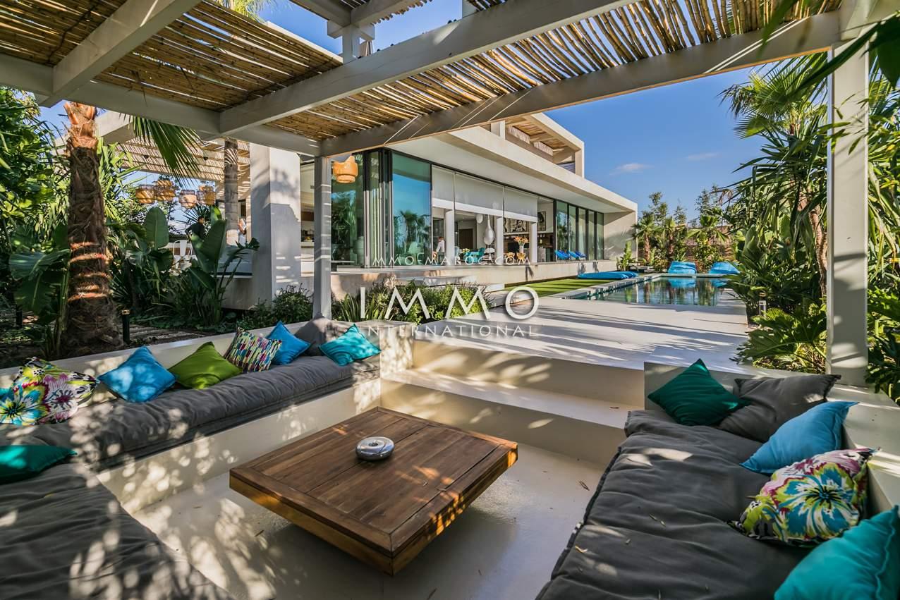 Vente maison Contemporain de prestige Marrakech Golfs Amelkis