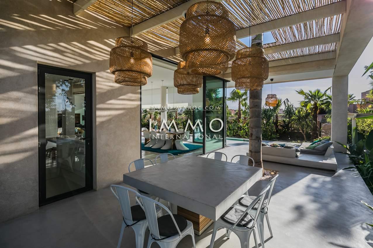 acheter maison Contemporain luxe Marrakech Golfs Amelkis