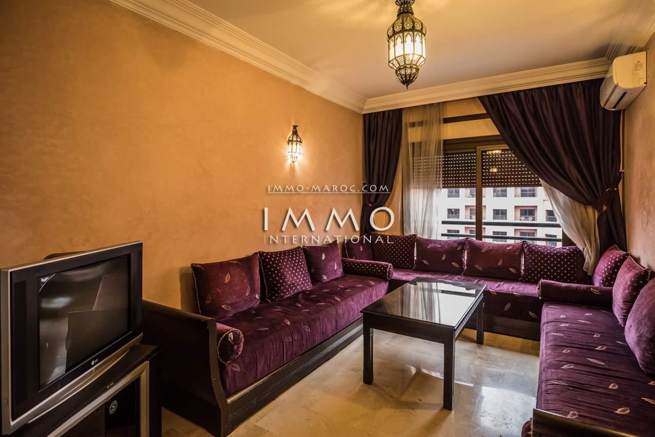 appartement vente Marocain épuré Marrakech Hivernage