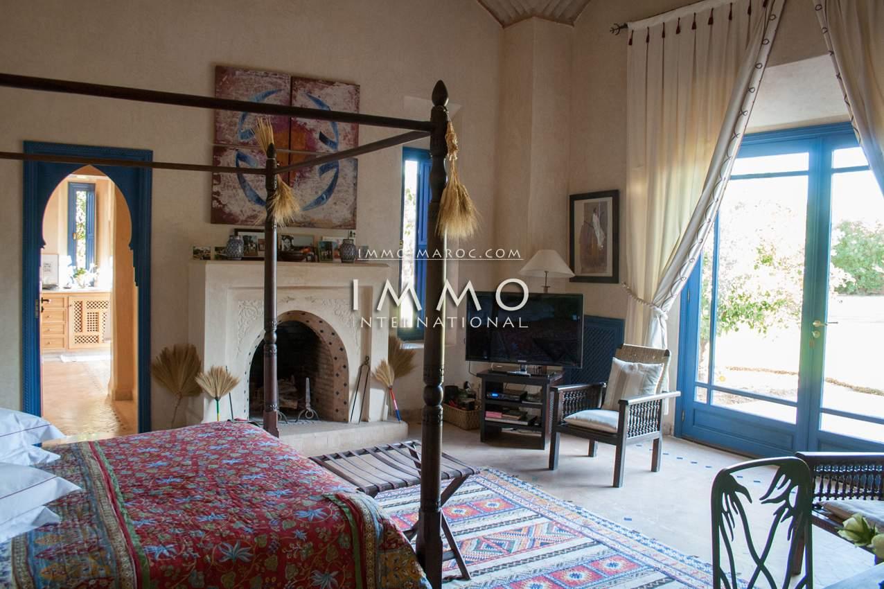 Villa à vendre Marocain épuré luxueuses Marrakech Palmeraie