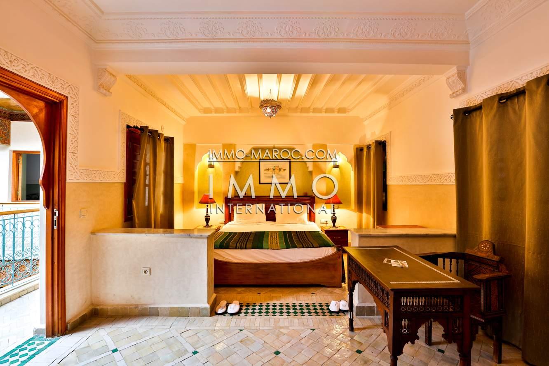 Vente riad Marocain Marrakech Place Jamaa El Fna Riad Zitoun