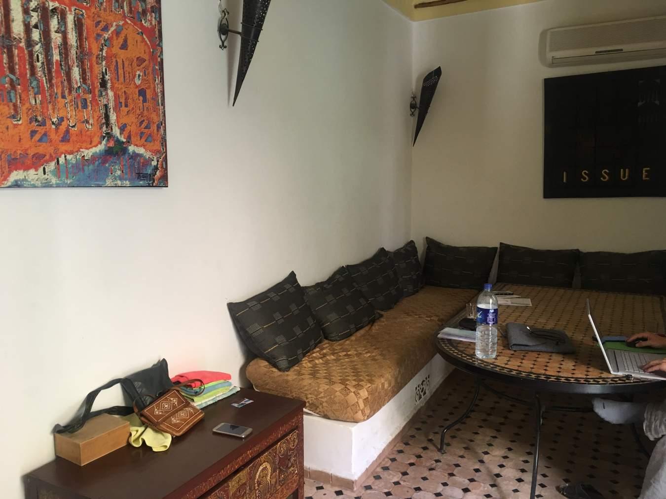 achat riad Restaurant Marrakech Place Jamaa El Fna Dabachi