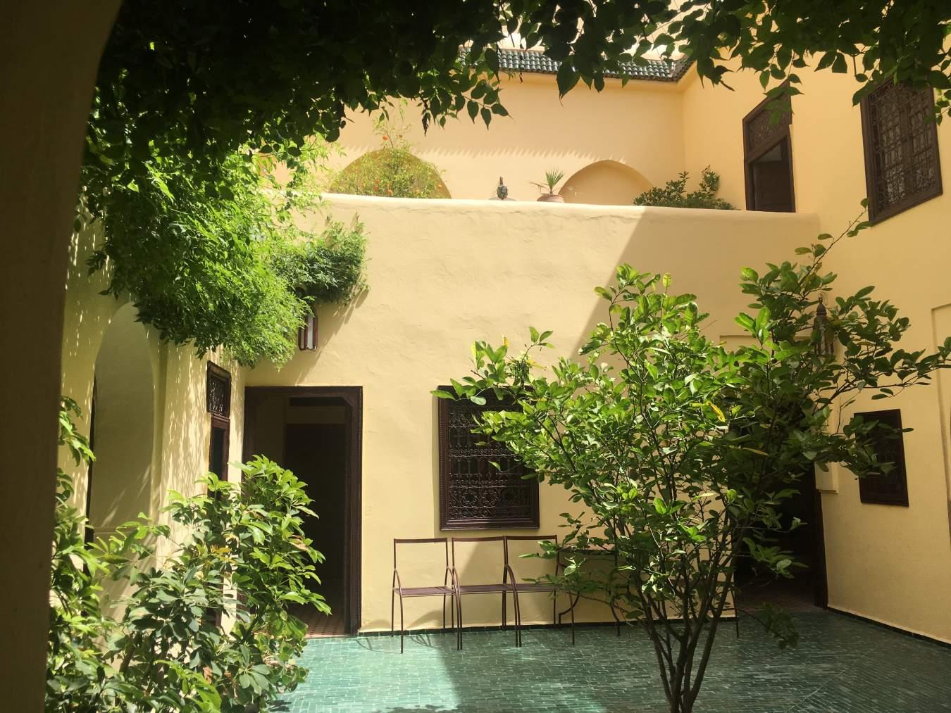 riad vente Restaurant Marrakech Place Jamaa El Fna Dabachi