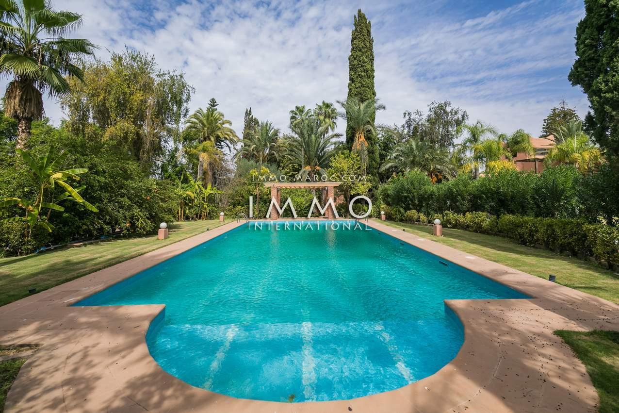 villa achat Local Commercial prestige Marrakech Palmeraie Bab Atlas