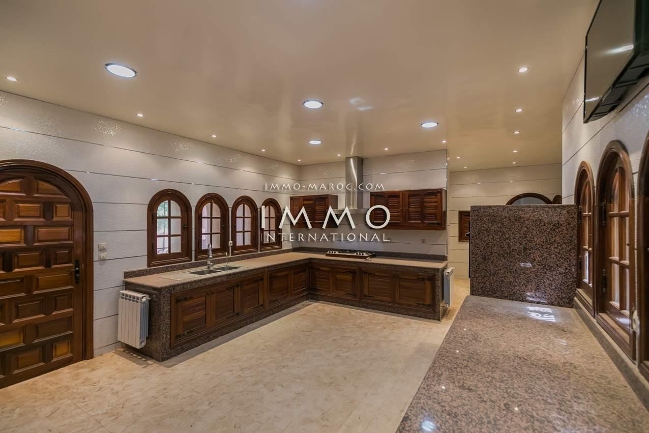 acheter maison Local Commercial de prestige Marrakech Palmeraie Bab Atlas