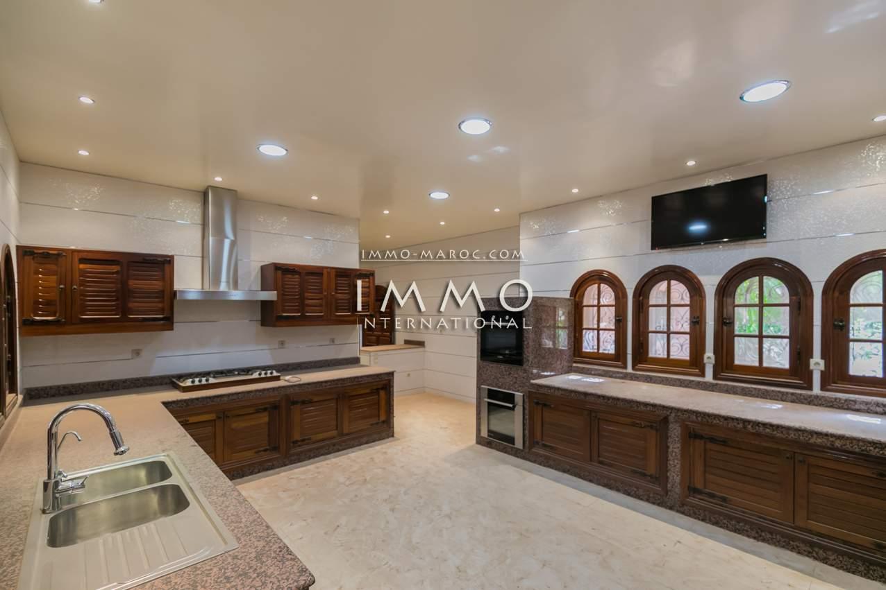 villa vente Local Commercial haut de gamme Marrakech Palmeraie Bab Atlas