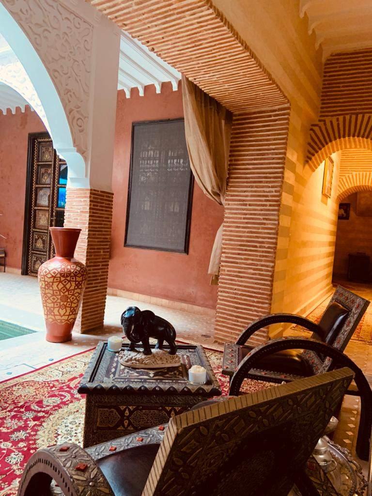 ryad garage Marrakech