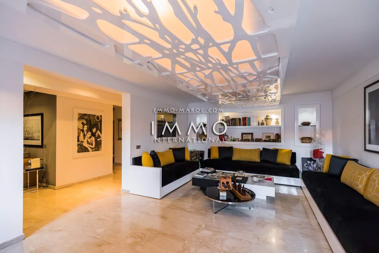 Appartement à vendre de prestige Marrakech Centre ville Lycée français - Camp El Ghoul