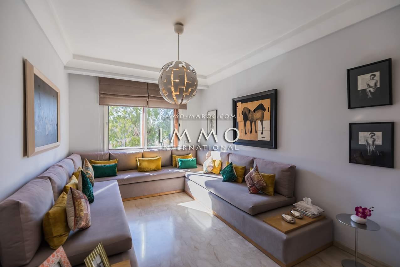 acheter appartement propriete luxe marrakech à vendre Marrakech Centre ville Lycée français - Camp El Ghoul