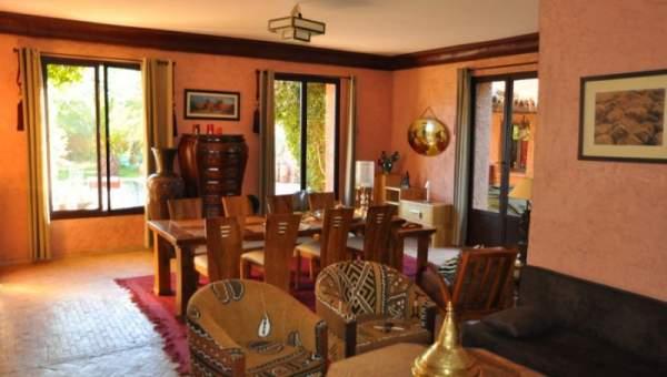 Vente villa traditionnel Marrakech Extérieur Route Fes