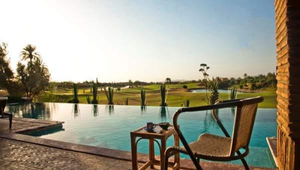 Villa à vendre traditionnel Marrakech Golfs Amelkis