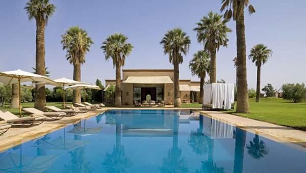 Achat villa demeure de prestige Marrakech Extérieur Route Sidi Abdellah Ghiat