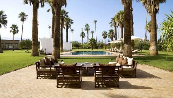 Vente villa demeure de prestige Marrakech Extérieur Route Sidi Abdellah Ghiat