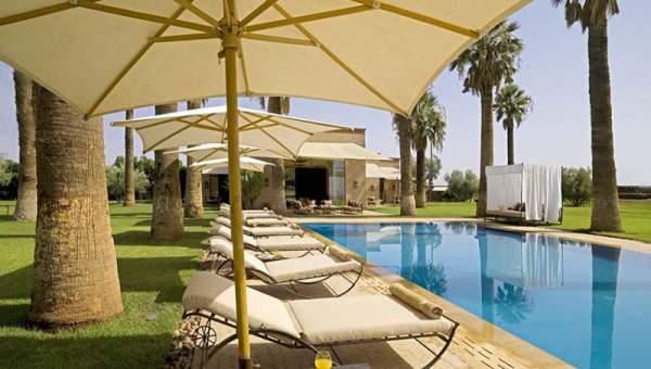 Maison à vendre demeure de prestige Marrakech Extérieur Route Sidi Abdellah Ghiat