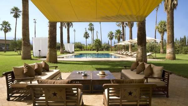 Vente maison demeure de prestige Marrakech Extérieur Route Sidi Abdellah Ghiat