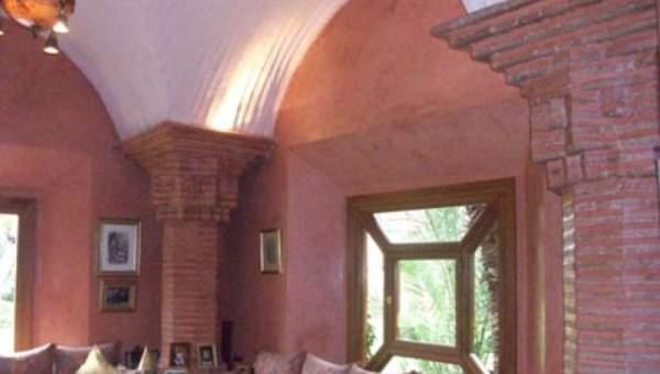 Achat villa demeure de prestige Marrakech Palmeraie