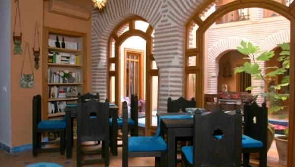 achat riad maison d'hôtes Marrakech moins de 10 minutes de la place