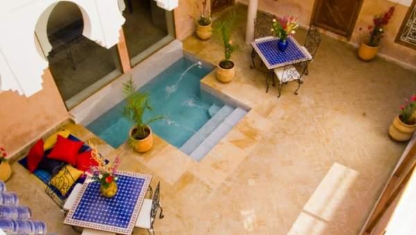 achat riad Marrakech Place Jamaa El Fna Riad Zitoun