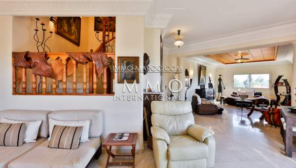 Achat appartement luxe Marrakech Hivernage