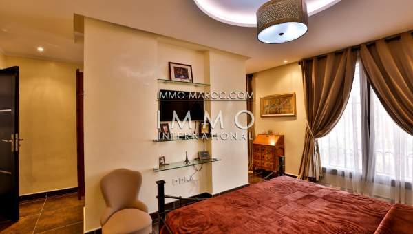 Vente appartement Marocain épuré Marrakech Hivernage