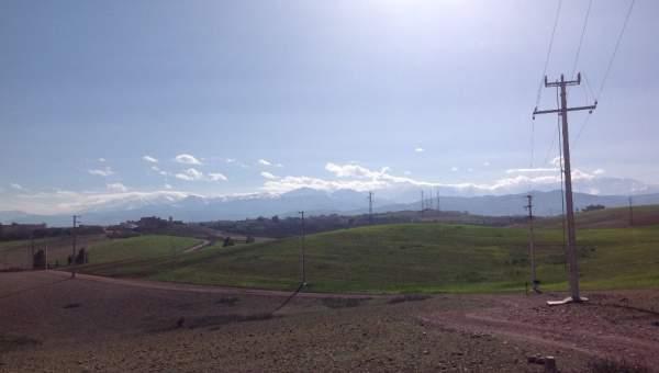 Terrain à vendre Ferme Marrakech Extérieur Route Barrage