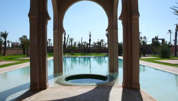 Achat villa Marocain haut de gamme Marrakech Palmeraie