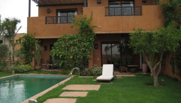 Achat villa Moderne luxe Marrakech Extérieur Route Ourika