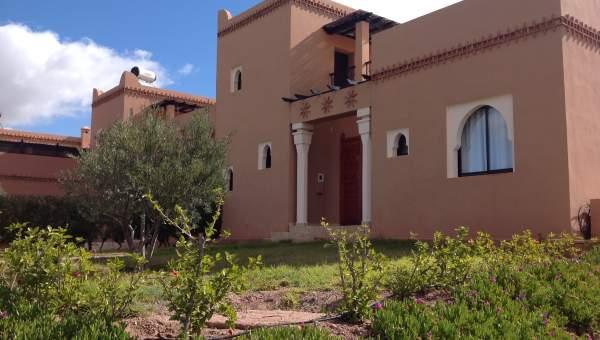 Vente maison Marocain épuré Marrakech Extérieur Route Barrage