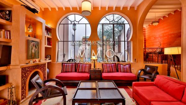 Location riad Marocain épuré Marrakech Place Jamaa El Fna Riad Zitoun