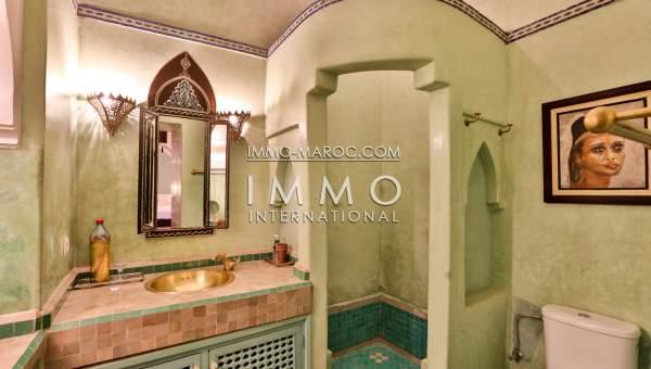Riad à louer Marocain épuré Marrakech Place Jamaa El Fna Riad Zitoun