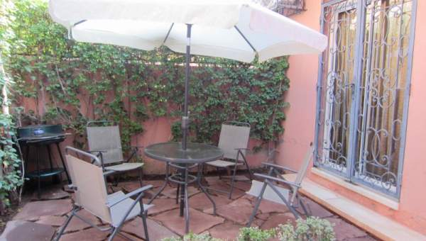 Villa à louer Marocain épuré Marrakech Extérieur Route Fes