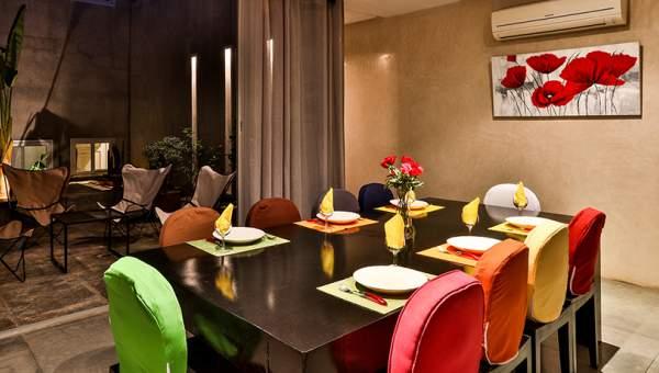 salle à manger + terrasse
