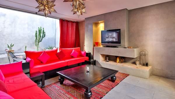 Salon + terrasse