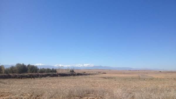 Terrain à vendre Terrain villa Marrakech Extérieur Route Barrage
