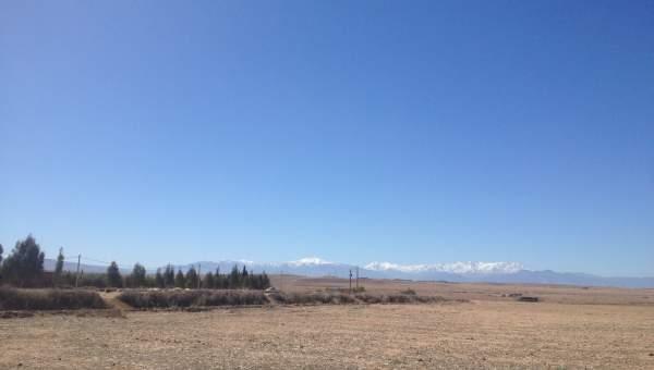 Vente terrain Terrain villa Marrakech Extérieur Route Barrage