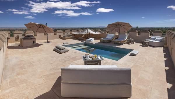 Villa à louer prestige Marrakech Palmeraie